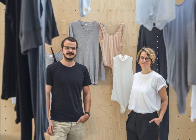 Benjamin Sadler und Sarah Grohé. Foto: Hans-Jürgen Bauer