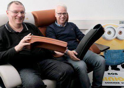 Wolfgang Burkhardt und Thomas Rüttgers betreiben mit dewr Ecco GmbH eine Kinoberatung