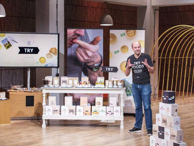 Try Foods Gruender ueberzeugt Investoren bei der Hoehle der Loewen
