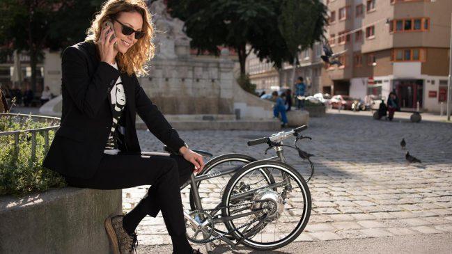 Das EBike vom Startup Vello Bike+ kann seine Batterien selbst aufladen während der Fahrt