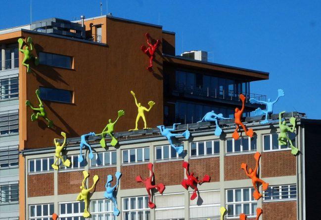Das Flossihaus in Düsseldorf. Foto: Stadt Düsseldorf/Michael Gstettenbauer