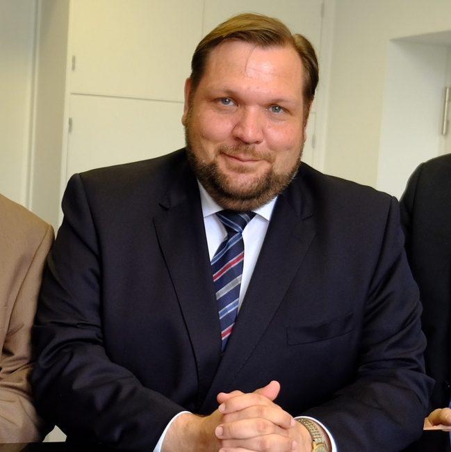 Krefelds Oberbürgermeister Frank Meyer. Foto: Lothar Strücken