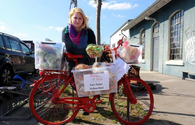 Katharina Linkes Food-Fair-Teiler gibt es nun auch in Leverkusen. Foto: Miserius, Uwe (umi)