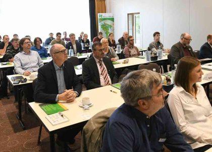 """""""Gut besucht"""" nannte die Kreis-WfG die Resonanz auf ihre Einladung zum Gründerseminar in Geldern. 32 Interessierte waren dabei. Foto: JA/Evers, Gottfried (eve)"""